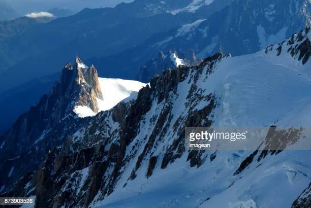 Sur le chemin du Mont Blanc
