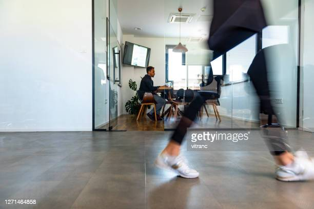 on the way to the office - blurred motion stock pictures, royalty-free photos & images