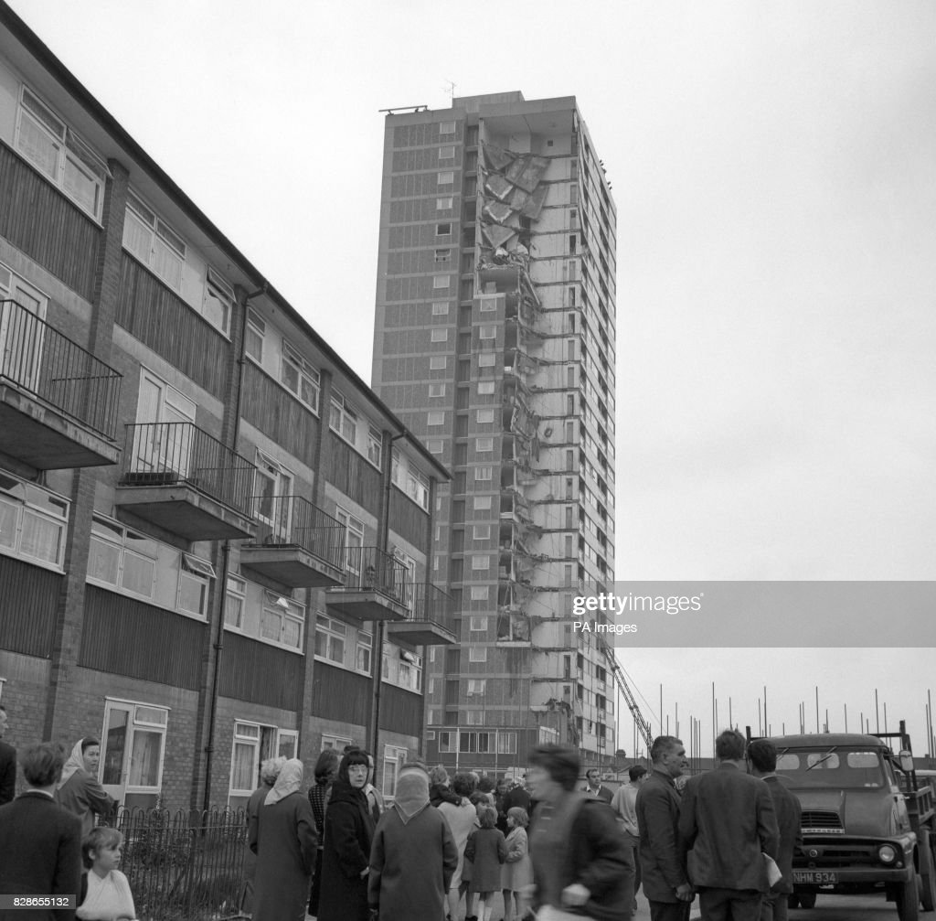 On this day in 1968 three people were killed after a new tower block part collapsed.