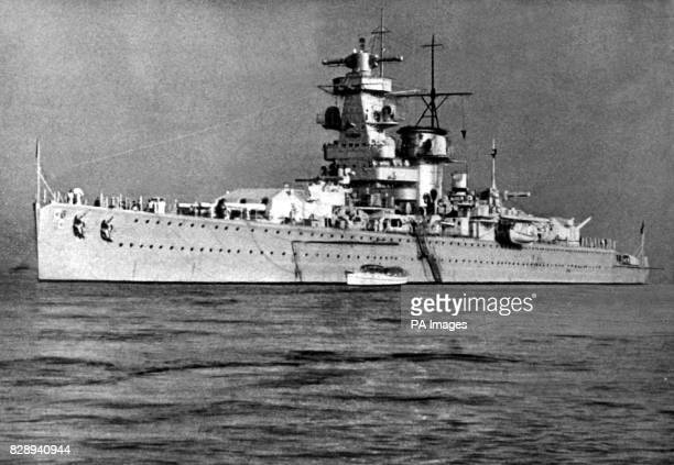 On this Day in History The German Pocket battleship Admiral Graf Spee fights an epic sea battle with the British Cruisers Exeter Ajax and Achilles at...