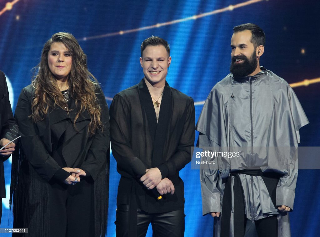 On this photo, taken on 23 February 2019, Ukrainian band KAZKA... News Photo   Getty Images