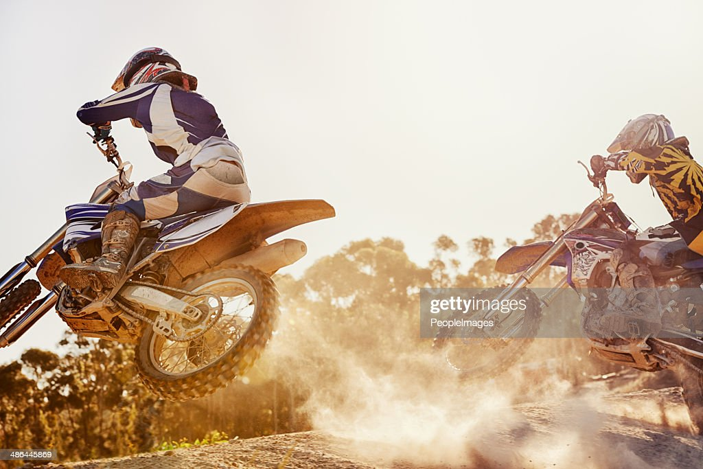 On this very track, a fierce rivalry was born : Stock Photo