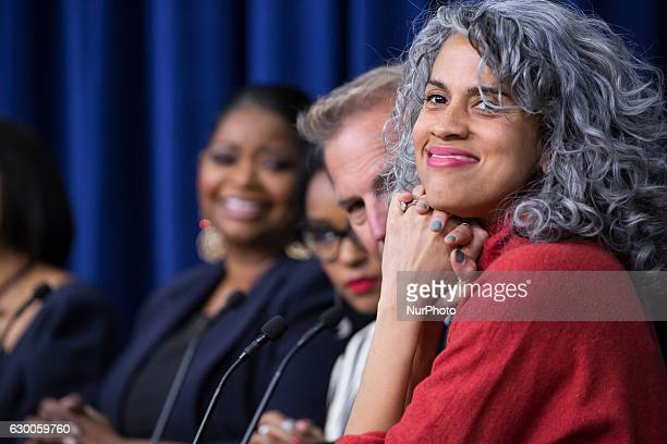 On Thursday December 15th in the South Court Auditorium of the Eisenhower Executive Office Building of the White House quotHidden Figuresquot...