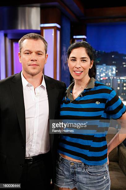 LIVE On Thursday January 24th Oscar winner Matt Damon exacted his revenge following a decade of torture by hijacking Kimmel's late night show and...