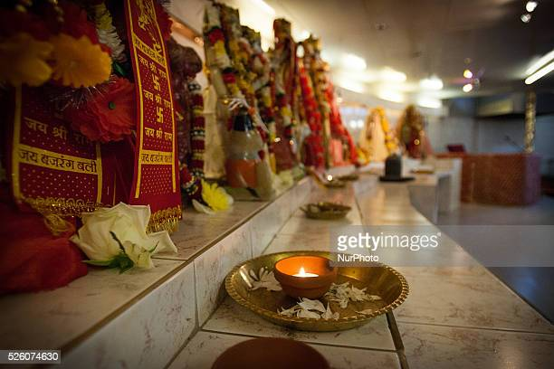 THE HAGUE On Thursday July 16 2015 about 100 people joined in the commemoration of the victims of flight MH17 The Shri Krishna Mandir Hindu tempel...