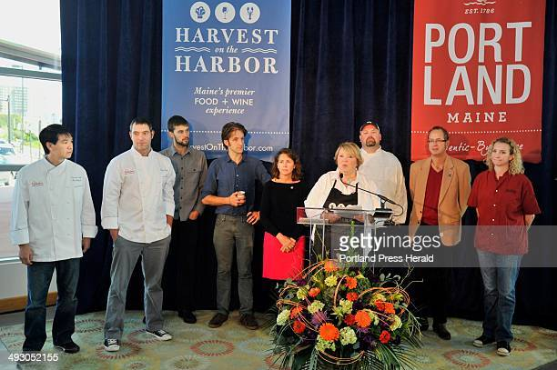 On Thursday September 26 the Harvest on the Harbor held a press conference introducing the Chef contestants for Lobster Chef of the Year andTop of...