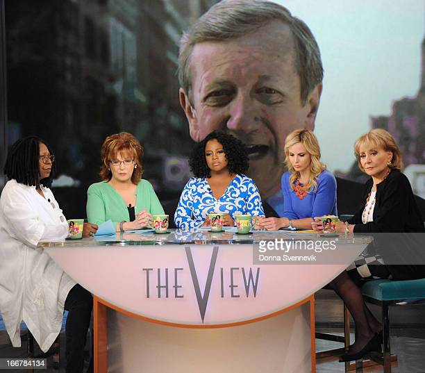 THE VIEW On today's show guests include ABC News' Brian Ross via satellite from Boston with the latest news on the bombings at the Boston Marathon...