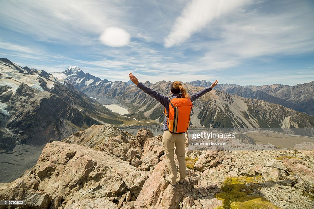 On top of the world : Stock Photo