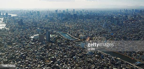 On top of Tokyo city!