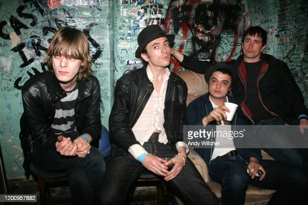 On tour with Babyshambles at the Southampton Joiners Arms in May 2005
