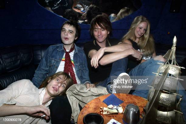 On tour with indie guitar band Babyshambles featuring Pete Doherty shot in Leeds in September 2004