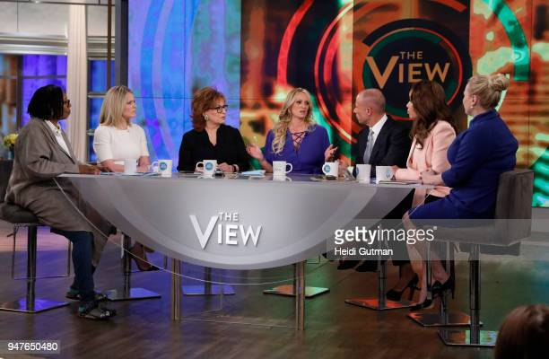 THE VIEW On Tuesday April 17 Stormy Daniels sits down with the cohosts of The View for her first live television interview Daniels will be joined in...