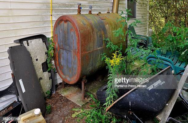 On Tuesday August 20 Jo Brillant of West Bath has old rusty tanks that will have to be replaced with other oil tanks or get converted with LP gas...