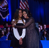 tuesday lr malia obama her mom