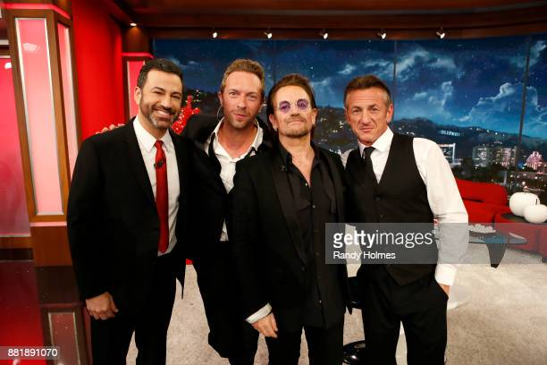 LIVE On Tuesday November 28 ABCs Jimmy Kimmel Live is once again joining forces with Bono and for a special episode of the latenight program in an...