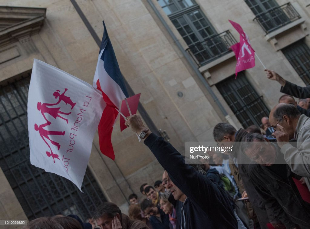Demonstration Against The PMA For All Women In Paris