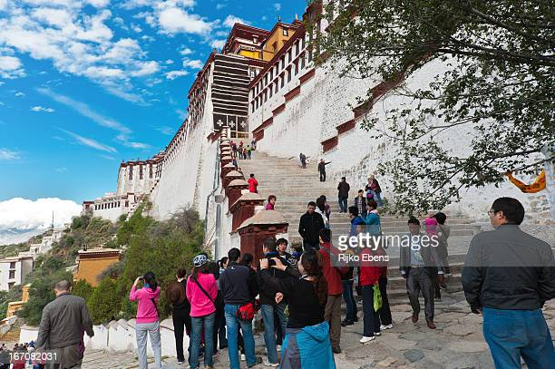 On visiting the Potala Palace, you need to climb a quite long path of steep stairs. Lhasa is located at more than 3000m above sea level and it is...