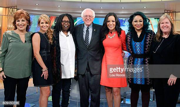 THE VIEW On ABC's The View WEDNESDAY FEBRUARY 10 Democratic Presidential Candidate Senator Bernie Sanders joins the cohosts at the Hot Topics table...
