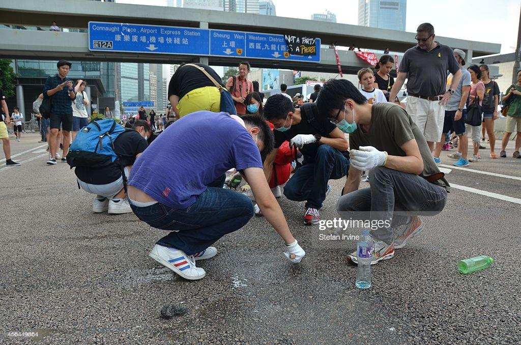 Protests in Hong Kong : News Photo
