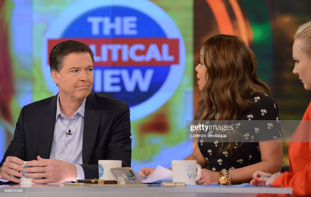 THE VIEW - On Wednesday, April 18, James Comey is a guest on ABC's The View 'The View' airs Monday-Friday (11:00 am-12:00 pm, ET) on the ABC Television Network. HOSTIN