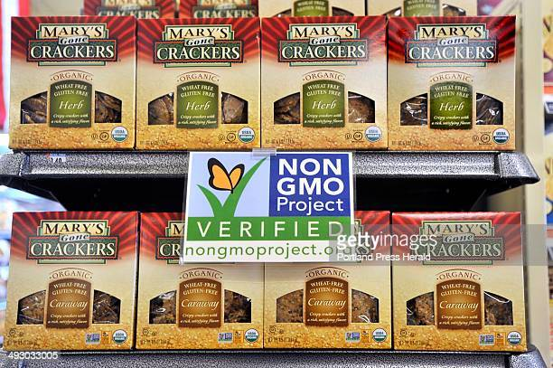On Wednesday July 24 2013 Whole Foods has clearly marked many of their shelves with labels promoting the nonGMO products as well as gluten free...
