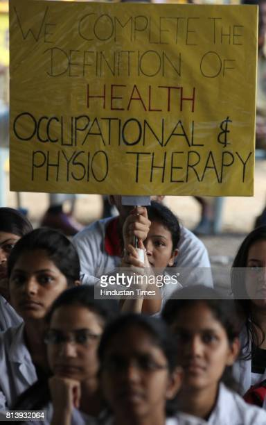 On Wednesday more than 160 undergraduate and postgraduate students from Sion Nair KEM and the Government Medical College Nagpur staged a protest...