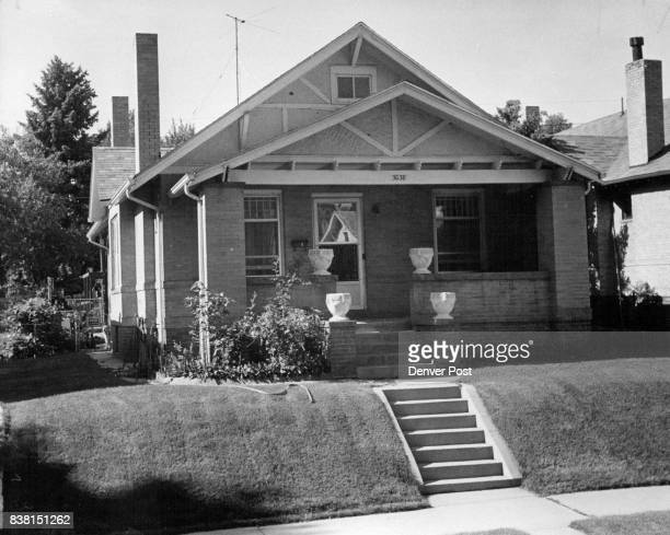 On West 35th Avenue in north Denver a halfblock off Federal Boulevard ona oneway street FEATURES This is a bungalow like most other homes on this...