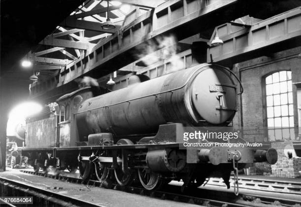 A Q7 080 on West Hartlepool shed in the early 1960s These engines were heavy mineral haulers on the North Eastern Railway The last examples were not...