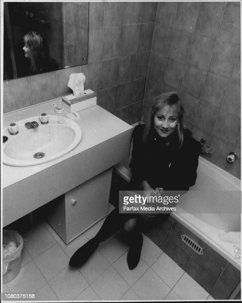 On 'What Women hate about Mens Habits'Pictured is Adrienne Willis of Cammeray in *****Spotlessly clean bath roomMiss Adrienne Willis a personal...