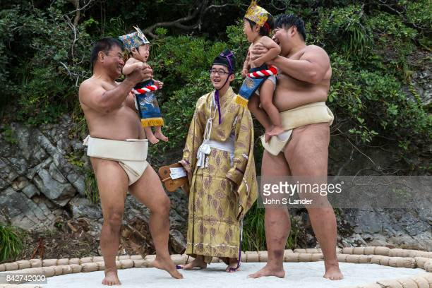 On your mark get set now SCREAM Nakizumo is a 400 year old event that appears to be based on the proverb crying babies grow faster Babies less than 1...