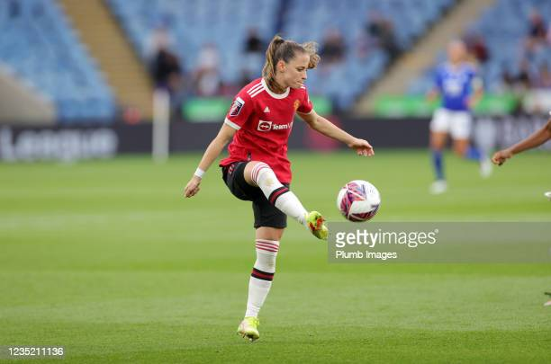 Ona Battle of Manchester United Women during the Barclays FA Women's Super League match between Leicester City Women and Manchester United Women at...