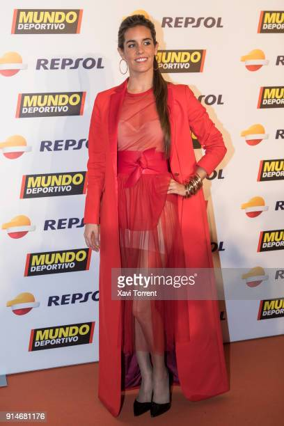 Ona Carbonell attends the photocall of the 70th Mundo Deportivo Gala on February 5 2018 in Barcelona Spain