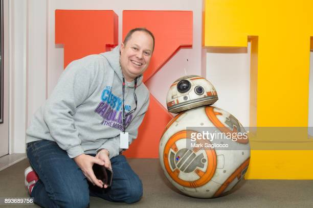 OnAir Personality Paul Cubby Bryant and BB8 visits KTU at iHeart Radio on December 15 2017 in New York City