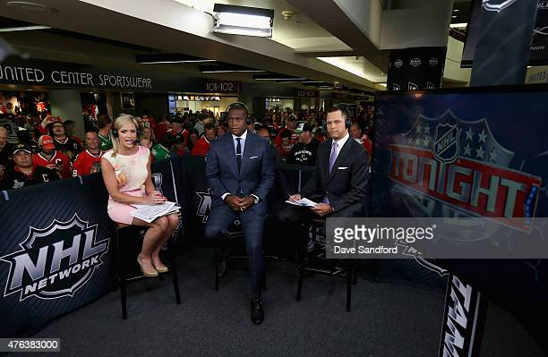 On-air talent Kathryn Tappen, Kevin Weekes and Martin Biron discuss Game Three of the 2015 NHL Stanley Cup Final between the Tampa Bay Lightning and...