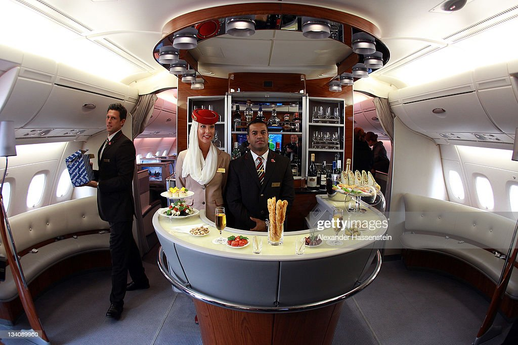 Emirates Launches Daily A380 Flights From Dubai To Munich : News Photo