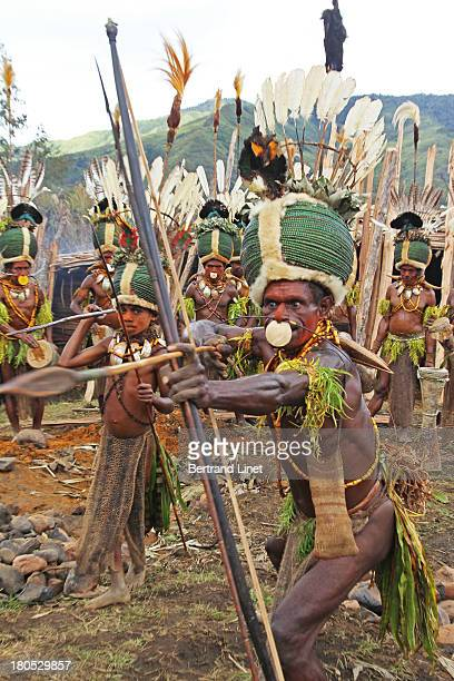 Once a year, a tribal show is organized in Simbai to show the unique Kalam culture.