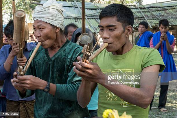 Once a year in winter after harvest the Mru people celebrate a festive day called Saw Chia Kum This festival comes from a myth A long time ago a Mru...