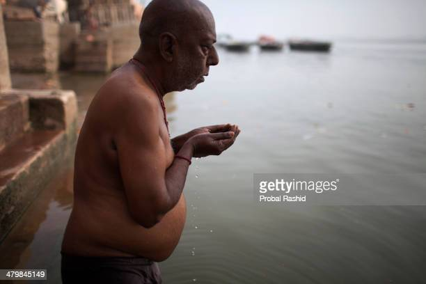 Once in every lifetime an observant Hindu hopes to make a pilgrimage to the holy city of Varanasi Some come to wash away sickness and sin in the...