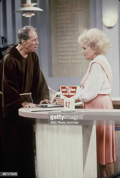 GIRLS Once in St Olaf Season Six 9/29/90 Rose is reunited with her biological father Don Ameche guest starred
