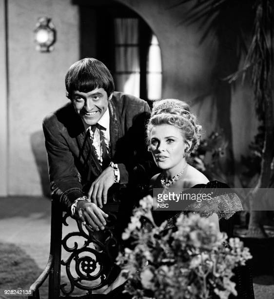 CHAPARRAL Once on a Day in Spring Episode 20 Pictured Henry Darrow as Manolito Montoya and Kathleen Crowley as Countess Maria Kettenden von München