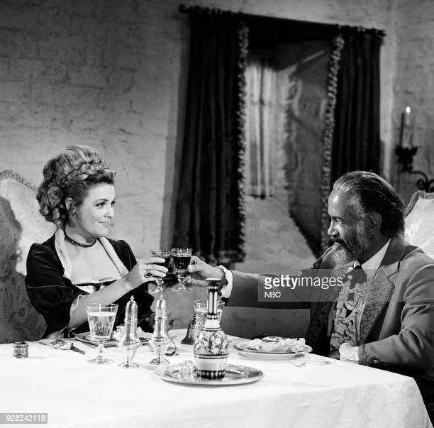 CHAPARRAL Once on a Day in Spring Episode 20 Pictured Kathleen Crowley as Countess Maria Kettenden von München and Frank Silvera as Don Sebastian...