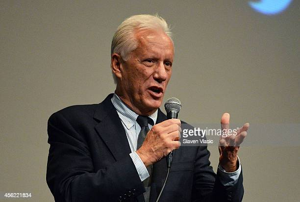 "Once Upon A Time In America"" cast member James Woods attends the 52nd New York Film Festival at Walter Reade Theater on September 27, 2014 in New..."