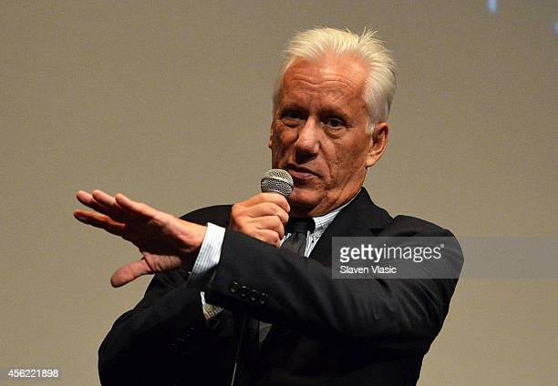 Once Upon A Time In America cast member James Woods attends the 52nd New York Film Festival at Walter Reade Theater on September 27 2014 in New York...