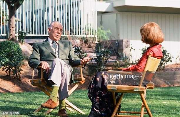 """Once Upon a Time... Is Now the Story of Princess Grace"""" -- Pictured: Screenwrtier/director George Seaton, host Lee Grant --"""