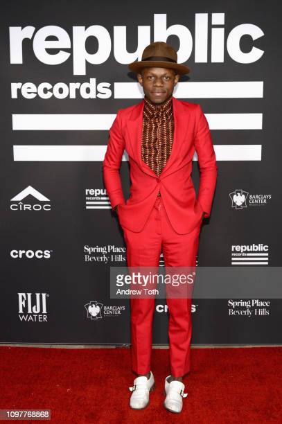 S Ondara attends Republic Records Grammy after party at Spring Place Beverly Hills on February 10 2019 in Beverly Hills California