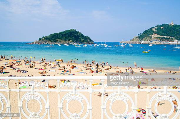 Ondarreta Beach, San Sebastian, Basque Country Spain