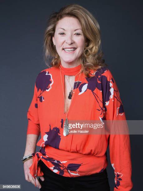 Ondi Timoner poses for a portrait during the Jury Welcome Lunch 2018 Tribeca Film Festival at Tribeca Film Center on April 19 2018 in New York City