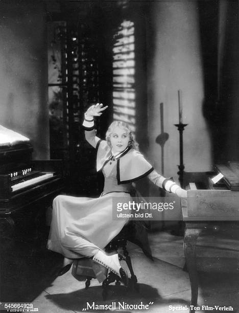 Ondra Anni Actress Germany * Scene from the movie 'Mamsell Nitouche' Directed by Carl Lamac Germany / France 1932 Vintage property of ullstein bild