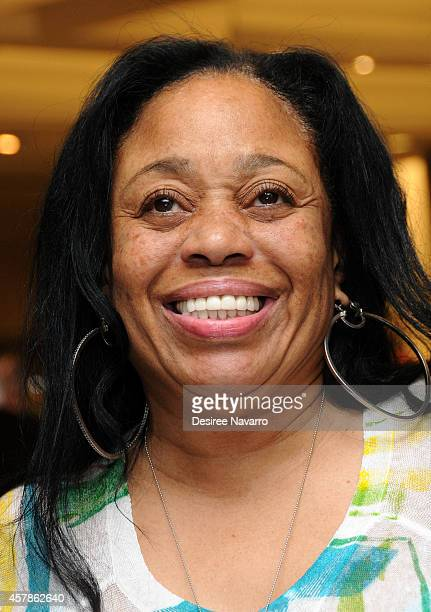 Ondrea Smith LL Cool J's mother attends SIS by Simone I Smith Jewelry Event at Macy's Herald Square on October 25 2014 in New York City