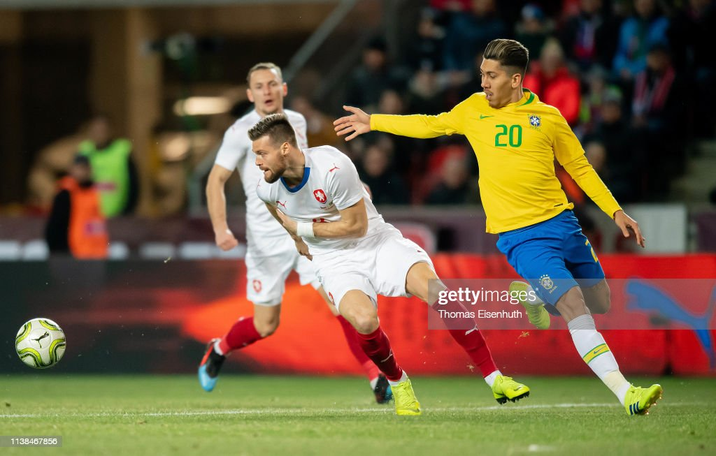 CZE: Czech Republic v Brazil - International Friendly
